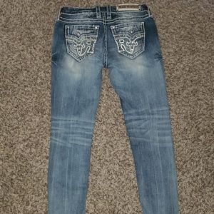 Rock Revival Sundee Mid-rise Skinny Size 29